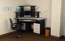 СКУ 1 ЛДСП Стол компьютерный угловой