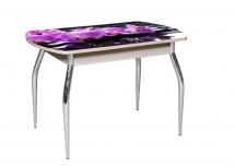 """Стол с фотопечатью """"Орхидея сиреневая"""""""
