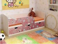 """Детская кровать минима """"Китти"""""""