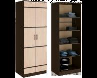 Сакура шкаф 2-х створчатый